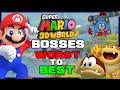 Ranking Every Super Mario 3D World + Bowser's Fury Boss!