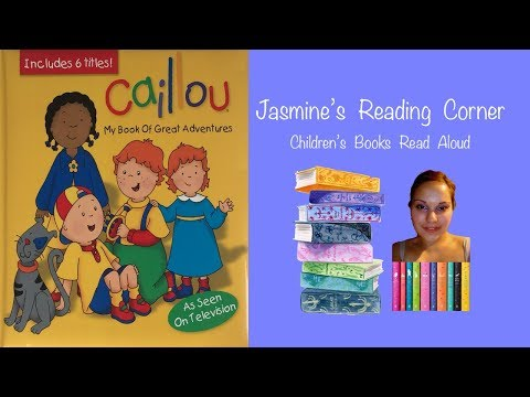 Caillou The Birthday Party | Children's Books Read Aloud