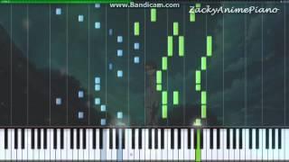 Shigatsu wa kimi no uso ed2 - orange (full version) (synthesia) (piano by zackyanimepiano)