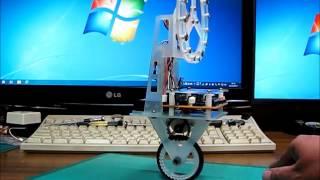 一輪車ロボット(L3GD20版)