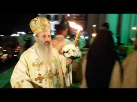 Slujba de Înviere la Mitropolia din Iași