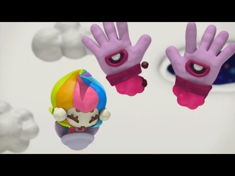 Kirby and the Rainbow Curse 100% Walkthrough Part 1 - World 1: Green Valley (All Treasure Chests)