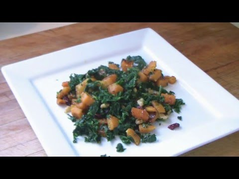 Kale And Butternut Squash