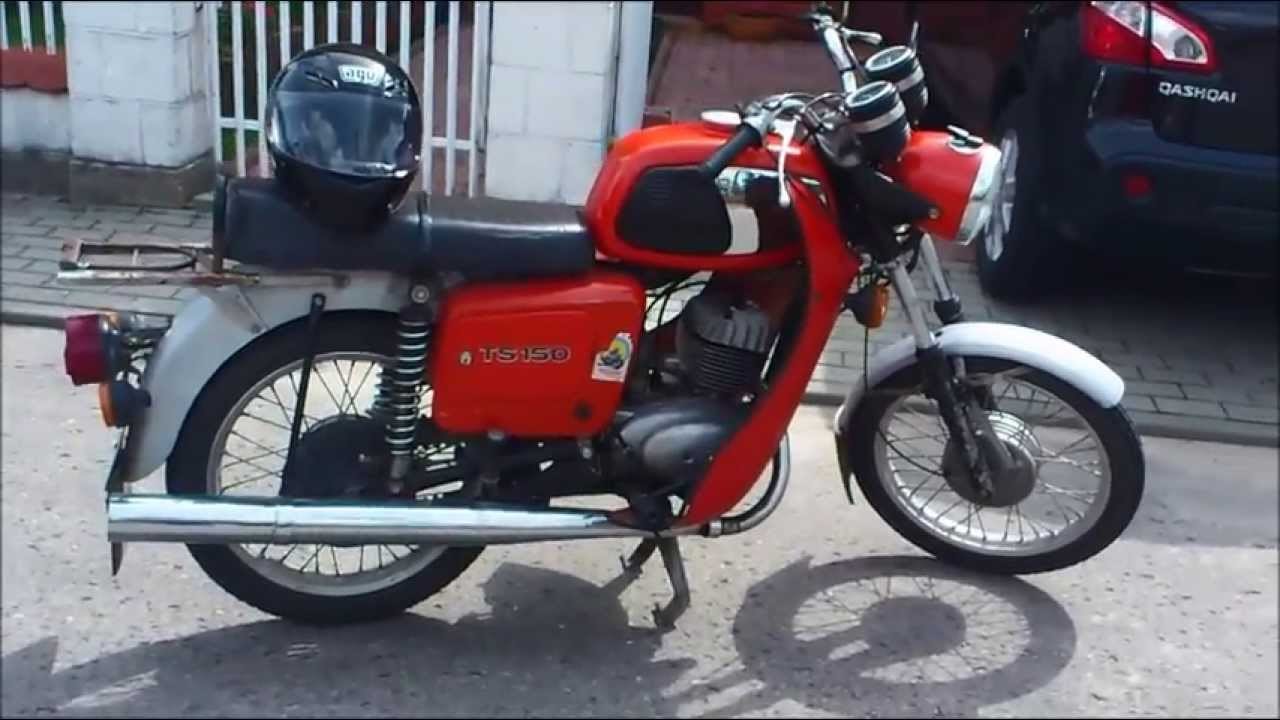 mz ts 150 1983r youtube