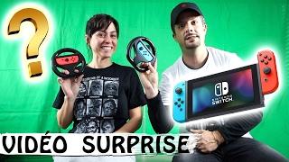 MARIO KART 8 : On vous a préparé une surprise / Family Vlog