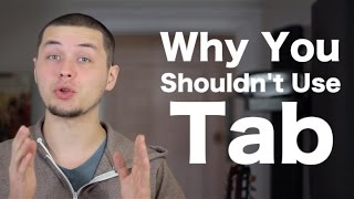Why You Shouldn't Use Tab (and it's not why you might think!) [ AN's Bass Lessons #26 ]