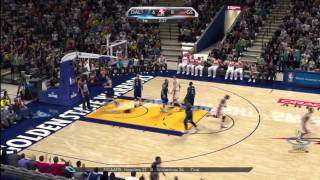 NBA 2K10 Mavericks @ Warriors