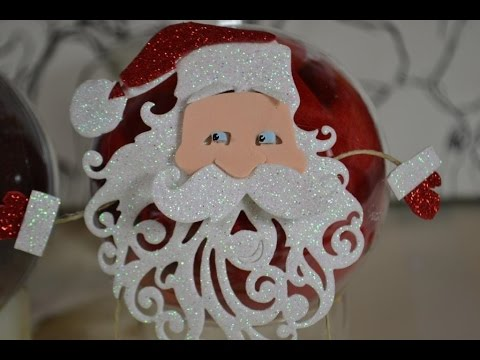 creation boules de noel diy tutoriels loisirs creatifs youtube. Black Bedroom Furniture Sets. Home Design Ideas