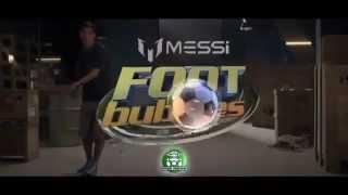 Messi Foot Bubbles BAŃKI  DO ŻONGLOWANIA TRIKÓW REKLAMA TV www.manfi.pl