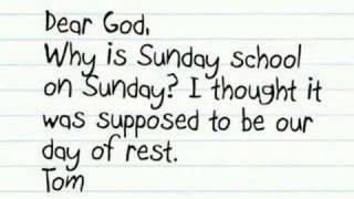 Letters to God from Chrildren