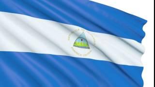Bandera 3D Nicaragua animada gratis