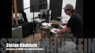 Stefan Häublein drum cover Elastica - 2:1