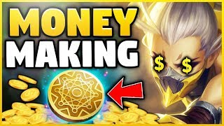 MONEY MAKING AKALI BUILD! *NEW* FASTEST 6 ITEM BUILD STRATEGY! S8 AKALI GAMEPLAY - League of Legends