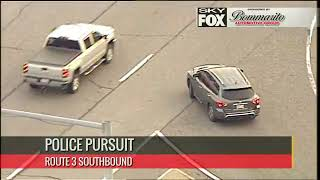 Full video: South St  Louis County Police Chase