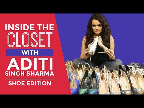 Inside The Wardrobe With Aditi Singh Sharma - Shoe Edition | S01E11 | Pinkvilla | Fashion