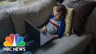 Coronavirus: See How One Family And Teacher Are Coping With Home Learning | NBC News