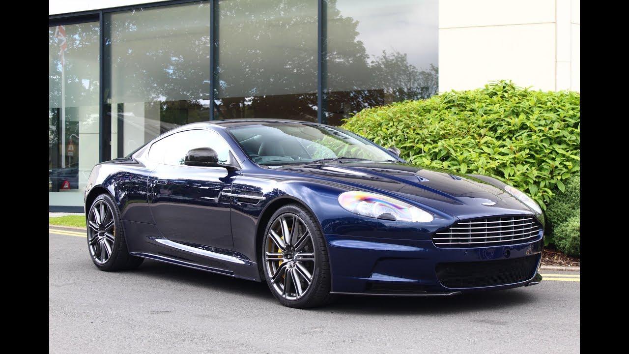Dbs In Midnight Blue Aston Martin Leeds Youtube