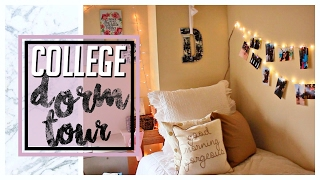 freshman year college dorm apartment tour    loyola university maryland