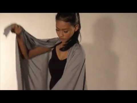 Infinity Scarf - Ways to wear #02 - Oversized Cardigan