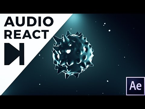 After Effects Tutorial - Audio React 4.0