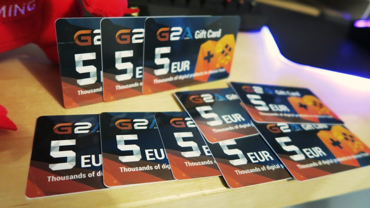 G2A GIFT CARDS! - YouTube