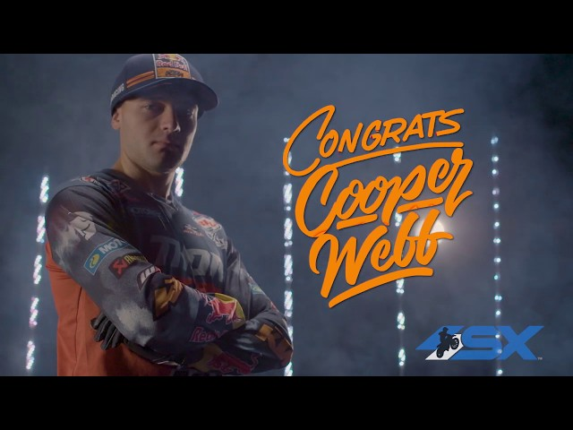 2019 450SX Champion - Cooper Webb