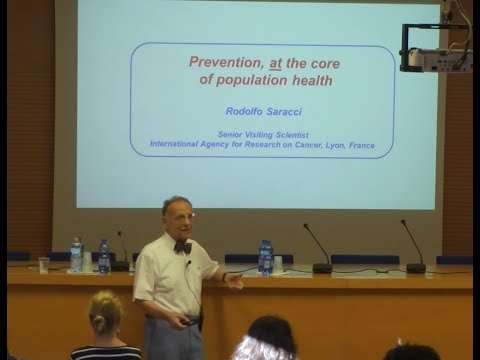 Prevention, at the Core of Population Health - Rodolfo Saracci - EEPE