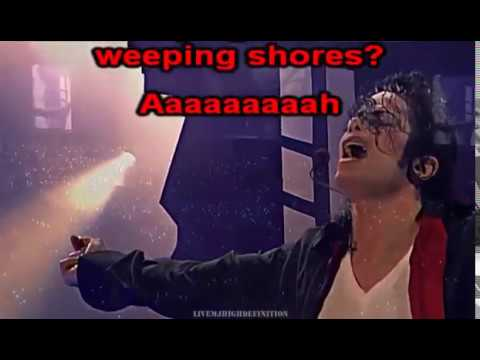 Earth Song Michael Jackson LIVE History World Tour Karaoke
