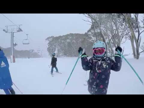 15cm of Snow in Thredbo