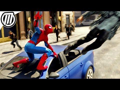 Spider-Man PS4: Crime Fighting! (Free Roam Gameplay)