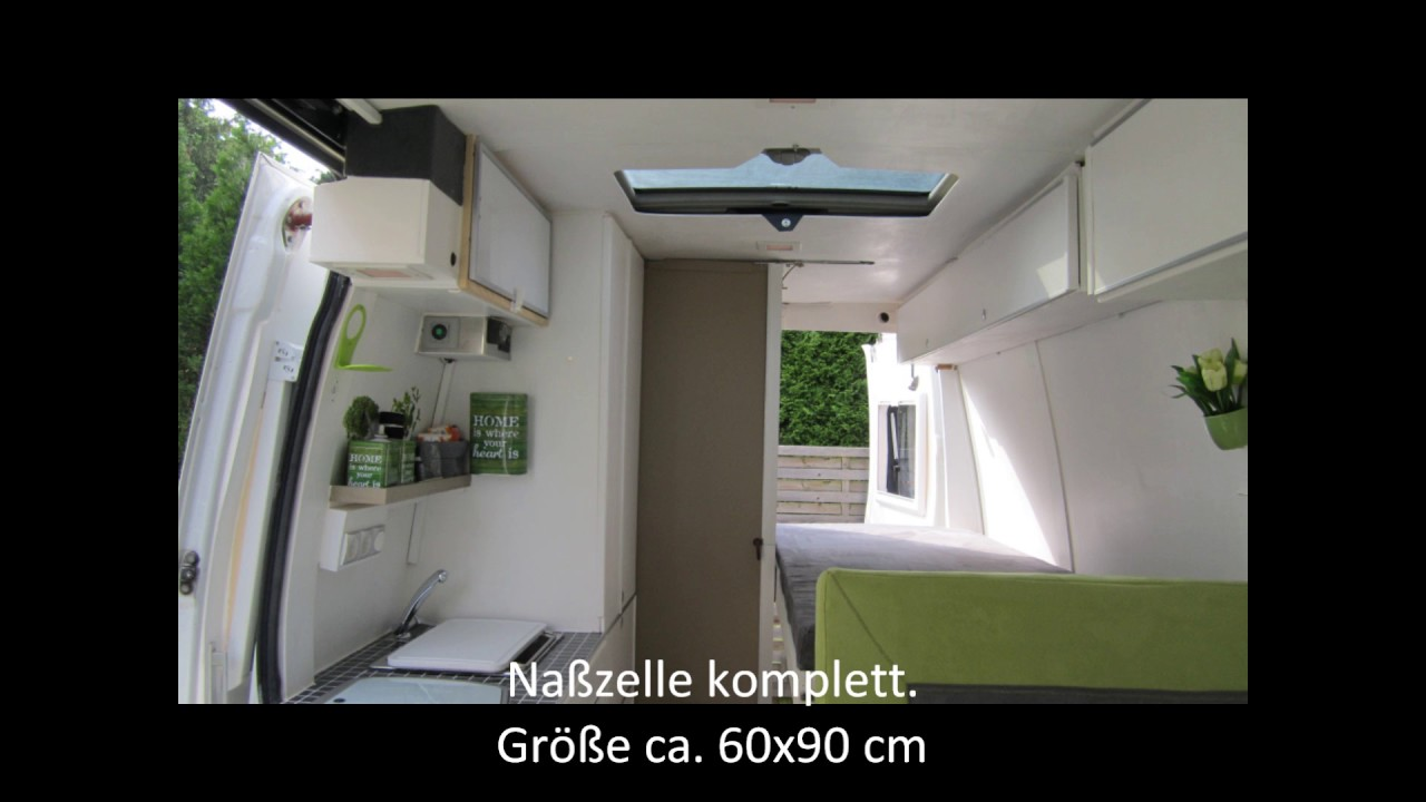 Iveco Daily 35 L2/H2 Wohnmobil selber ausgebaut - YouTube