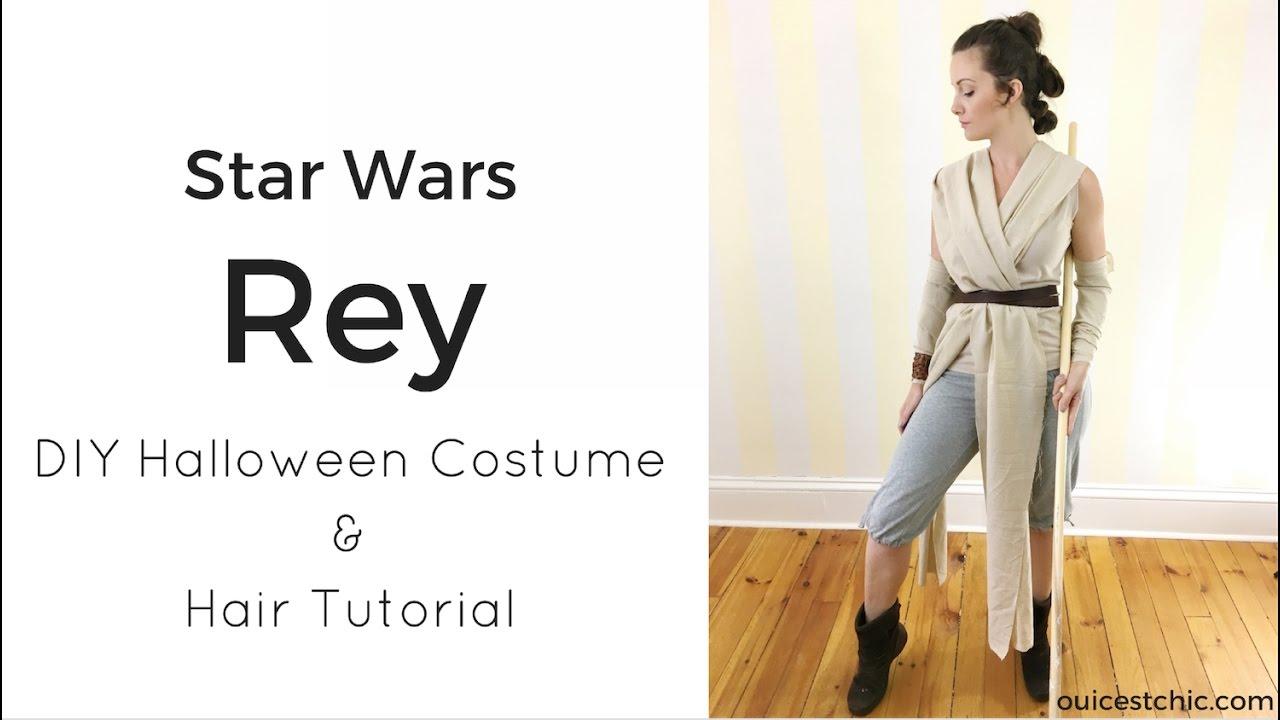 diy rey halloween costume star