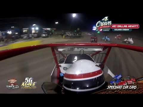 #57 Dallas Hewitt - Silver Crown - Eldora Speedway #4Crown 9-28-19