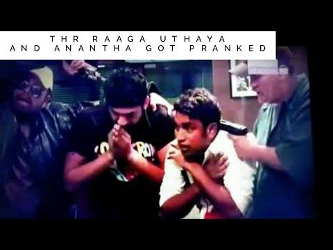 THR Raaga Uthaya and Anantha got pranked - Eneke Vaa