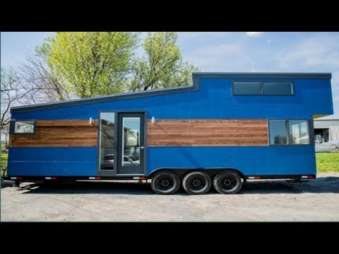 Liberation Tiny Homes of Pennsylvania Release 28' Big Blue Model