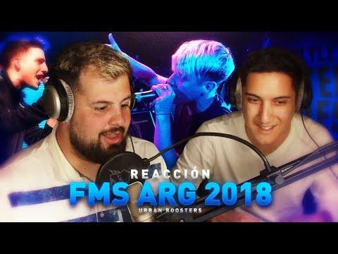 Papo y Negriin reaccionan a lo mejor de la FMS Argentina 2018