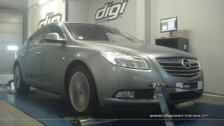 Opel Insignia 2.0 cdti 130cv Reprogrammation Moteur @ 171cv Digiservices Paris 77 Dyno