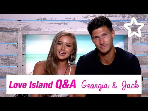 Love Island | Superdrug | Q+A | Jack & Georgia