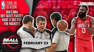 Download Is NBA Ref Scott Foster Biased Against The Rockets? Mp3 and Videos
