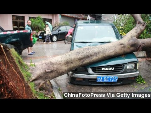 Typhoon Rammasun Ravages China, Philippines
