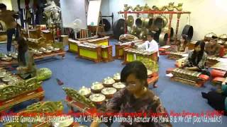 INTRODUCTION TO JAVANESE GAMELAN BUBARAN (The End) By Mrs Maria B & Mr Cliff (HK5)