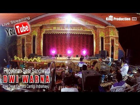 Live Sandiwara Dwi Warna Di Desa Cemara Cantigi Indramayu Bagian Malam
