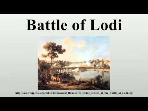 Battle of Lodi