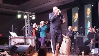 Jimy Bosch & Swing Sextet playing at Houston salsa congress 2019