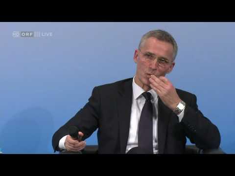 20170218 Münchner Sicherheitskonferenz Fragen an Jens Stoltenberg 0160379813