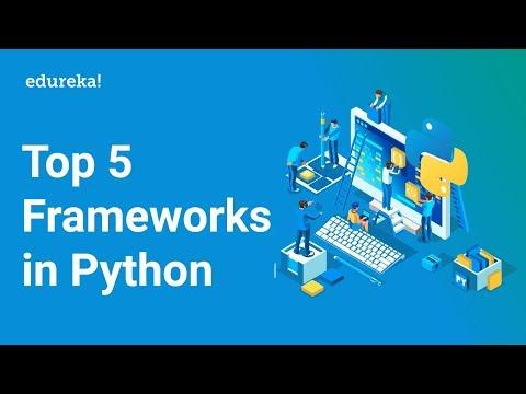 Python Frameworks | Top 5 Frameworks In Python | Python Tutorial For Beginners | Edureka thumbnail