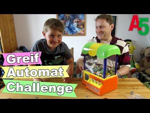 Greifautomat Challenge Grab o Matic Candy Grabber wie auf dem Jahrmarkt Ash5ive Spielzeug und Spaß
