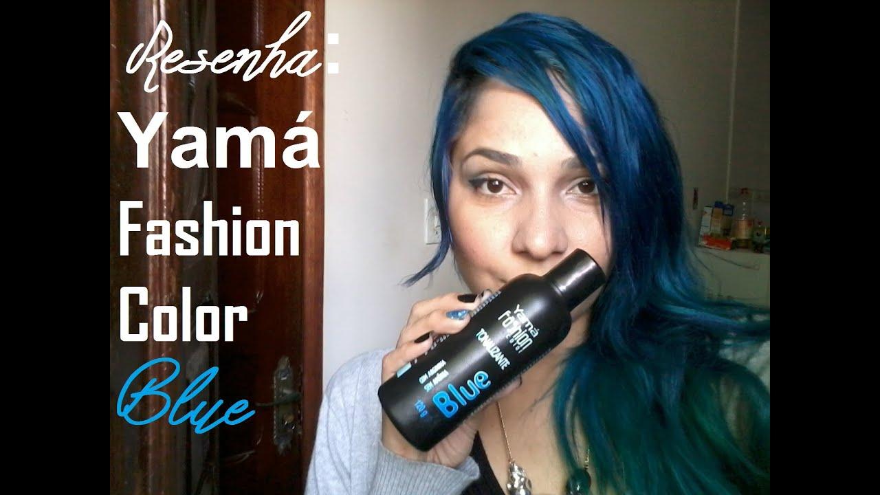Resenha Yama Fashion Color Blue