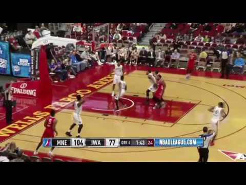 Malcolm Miller Basketball Highlights 2016-17 Maine Red Claws