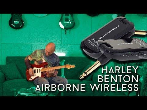 Harley Benton Airborne Wireless - does it work? - YouTube